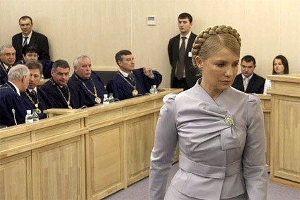 Ioulia Timochenko, le Premier ministre ukrainien.... (Photo: AP)