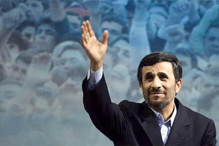 Mahmoud Ahmadinejad, le président iranien.... (Photo: Reuters)