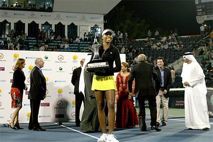 Venus Williams n'a pas perdu un seul set... (Photo: AFP)