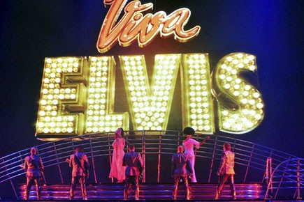 Viva Elvis est un spectacle de 22 numéros... (Photo: Reuters)
