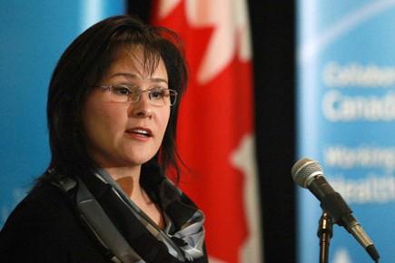 La ministre de la Santé Leona Aglukkaq.... (Photo: PC)