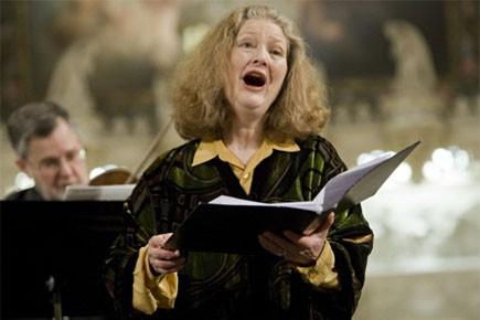 Dame Emma Kirkby en concert vendredi soir au... (Photo: David Boily, La Presse)