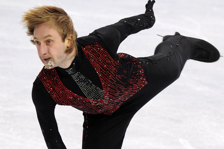 Evgeni Plushenko... (Photo: AFP)