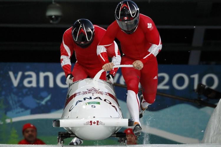 Les Canadiens Lascelles Brown et Lyndon Rush au... (Photo: Reuters)