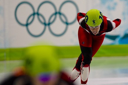Tania Vicent a bouclé les 1500 mètres en... (Photo: André Pichette, La Presse)