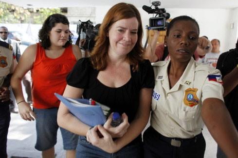 Laura Silsby, la responsable du groupe de missionnaire,... (Photo: AP)