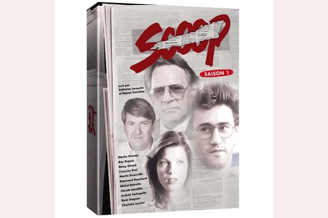 La première saison de la série Scoop, des auteurs... (Photo: Radio-Canada)
