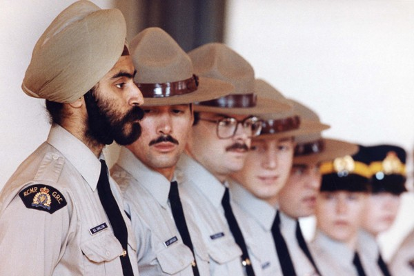 Baltej Singh Dhillom, un Sikh, le premier policier... (Photo PC)
