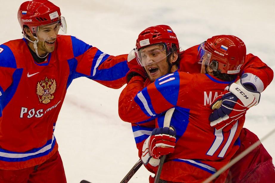 La victoire permet aux Russes de coiffer les... (Photo: André Pichette, La Presse)