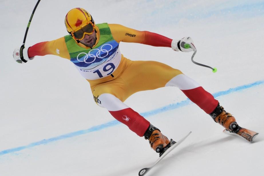 Manuel Osborne-Paradis souffre d'une  fracture du péroné... (Photo: AFP)