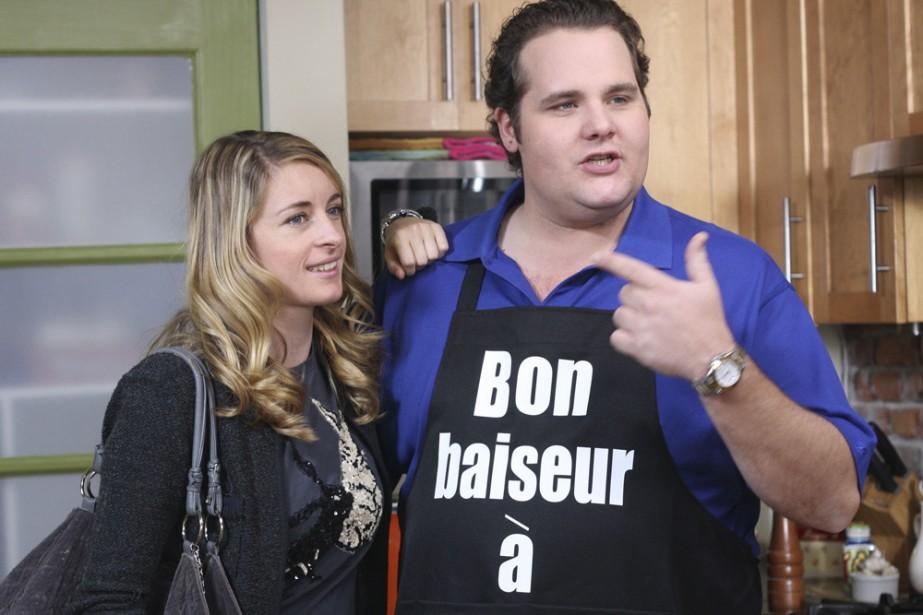 Christine Beaulieu et Antoine Bertrand dans C.A.... (Photo: Radio-Canada)