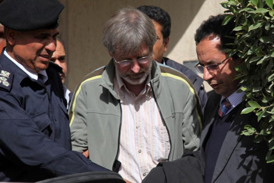 Max Göldi s'est rendu à la police judiciaire... (Photo: AFP)