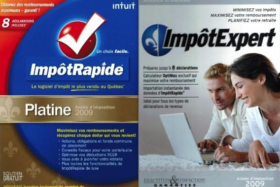 Les logiciels ImpôtRapide et ImpôtExpert...