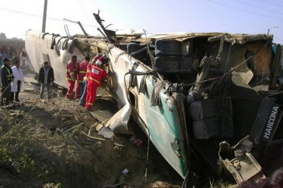 En 2007, un accident d'autobus survenu sur la... (Photo: archives Reuters)