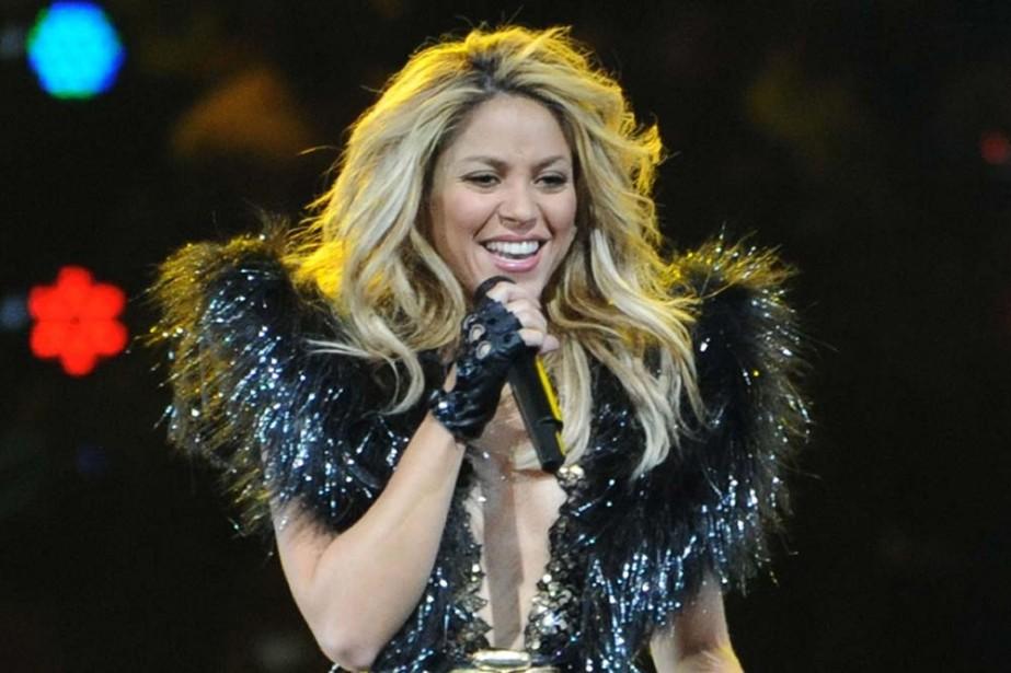 Shakira... (Photo: AFP)
