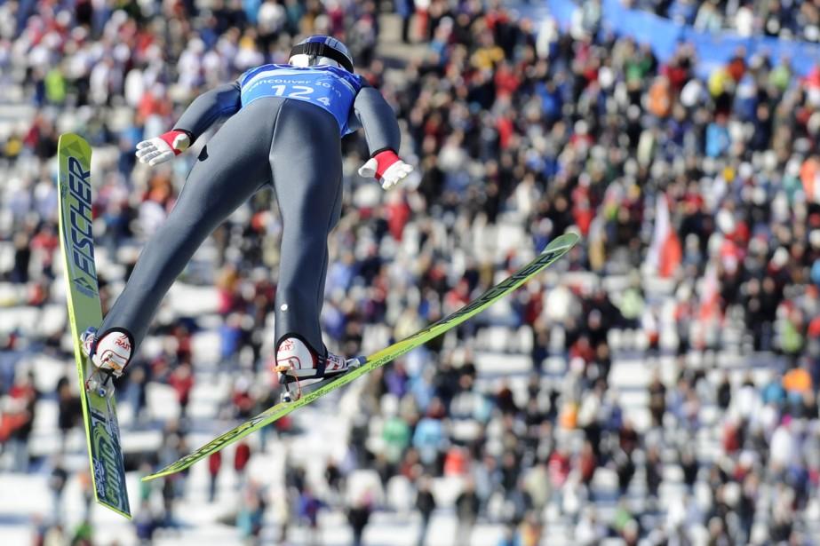 L'Autrichien Gregor Schlierenzauer... (Photo: AFP)