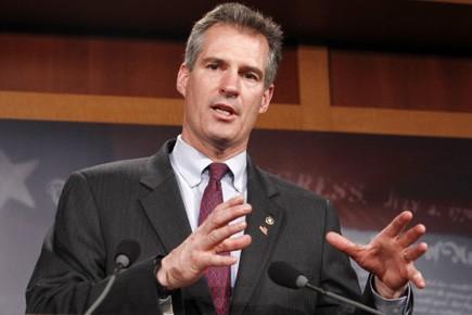 Cinq républicains, au rang desquels figurait le sénateur... (Photo: Reuters)