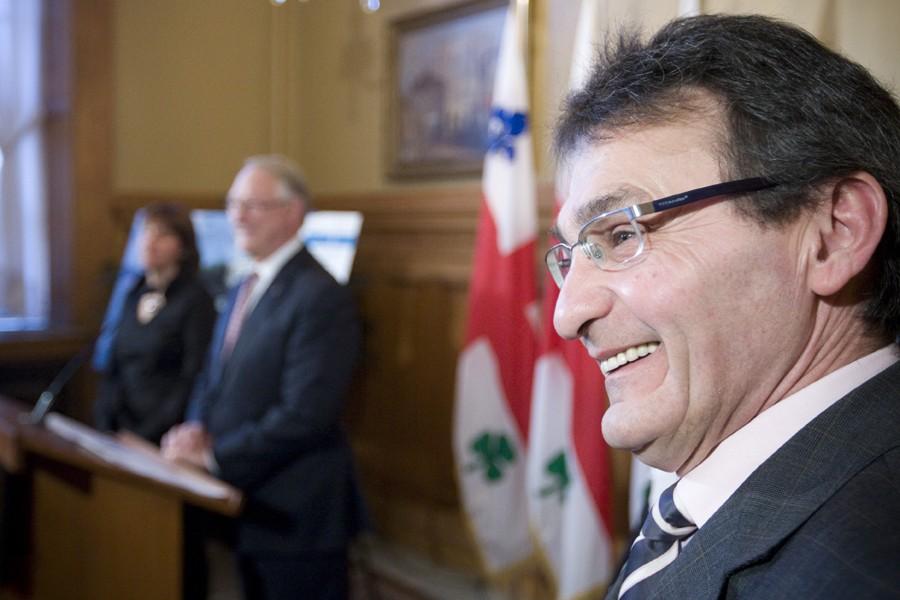 Le chef de Projet Montréal, Richard Bergeron.... (Photo: Ivanoh Demers, Archives La Presse)
