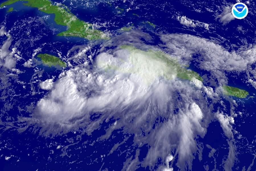 Baptisées ouragans en Atlantique et typhons en Asie,... (Photo: Archives AFP)