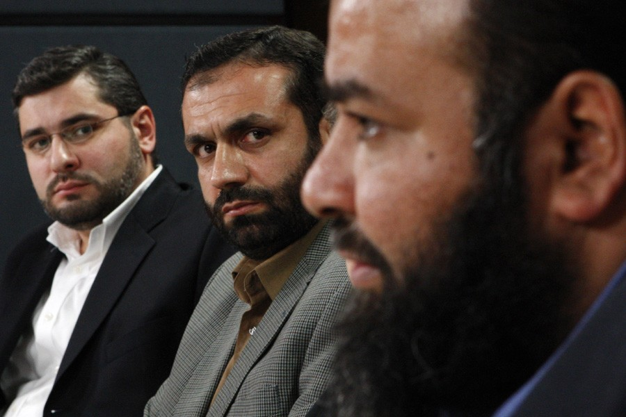 Le ressortissants canadiens Abdullah Almalki, Muayyed Nureddin et... (Photo: Archives Reuters)