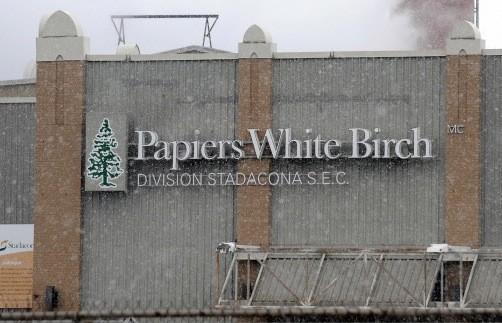 White birch le syndicat inquiet pour les r gimes de for Papeterie drummondville