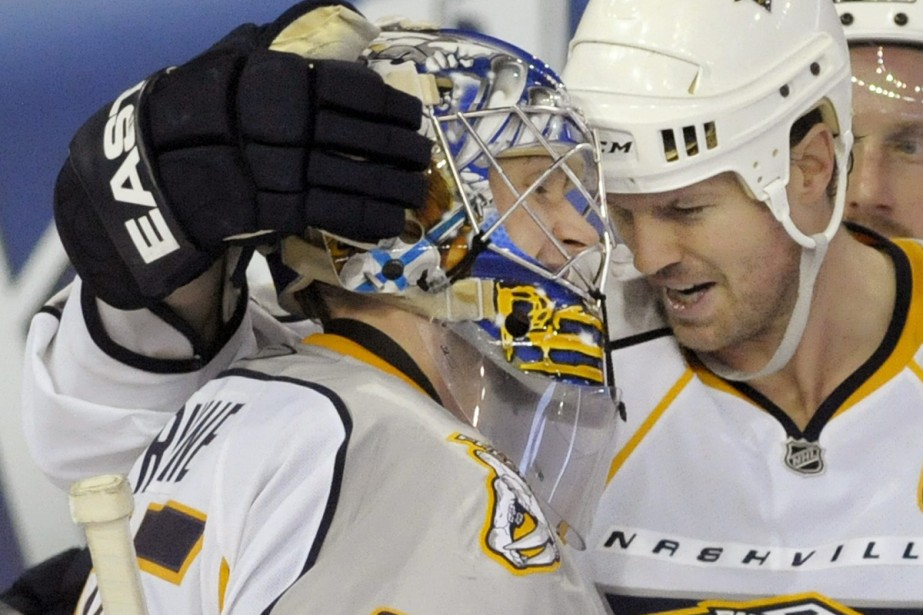 Pekka Rinne... (Photo: Reuters)