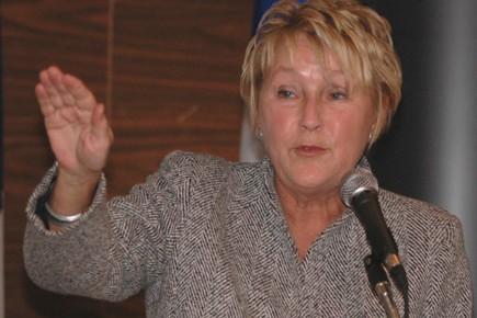 La chef du Parti québécois, Pauline Marois... (Photo: Le Quotidien)
