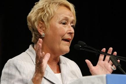 La chef de l'opposition officielle Pauline Marois.... (Photo: Le Soleil)