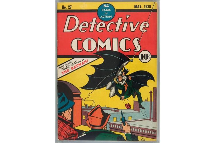 Cet exemplaire du numéro 27 de Detective Comics... (Photo: AP)