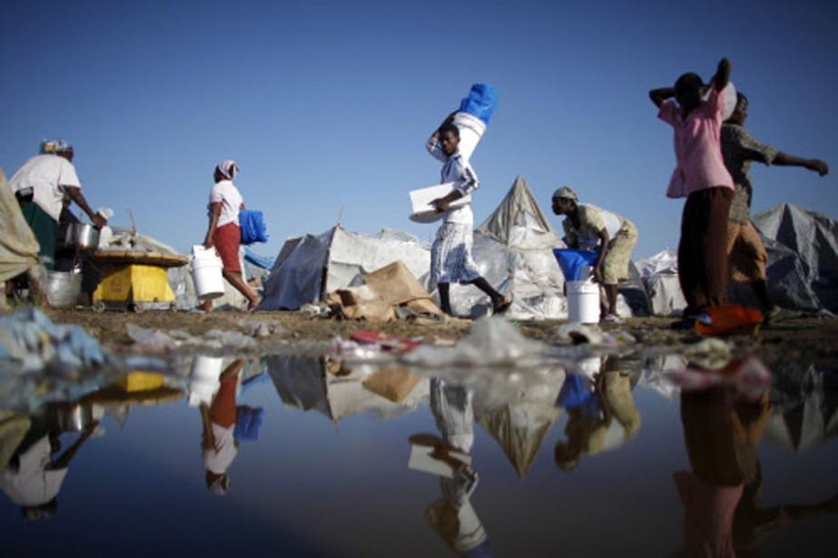 Port-au-Prince après la pluie.... (Photo: Reuters)