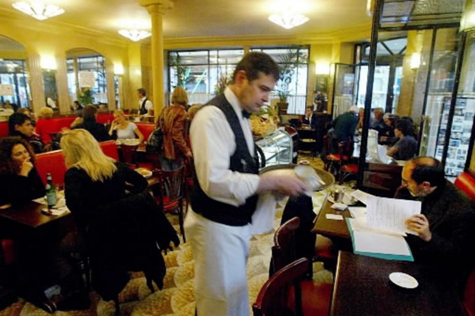Le Café de Flore, à Paris.... (Photo: AP)