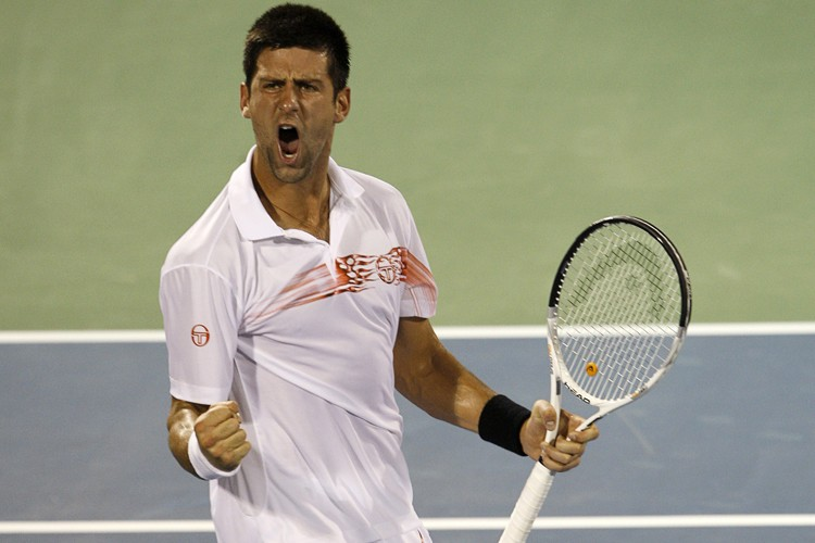 Novak Djokovic a battu Marcos Baghdatis en demi-finale... (Photo: Reuters)