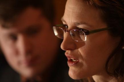 Heidi Rathjen, survivante de la fusillade de la... (Photo: Martin Chamberland, La Presse)