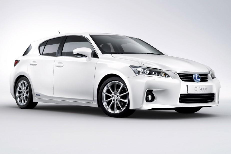 La Lexus CT 200h fera bientôt ses débuts.... (Photo fournie par Toyota)