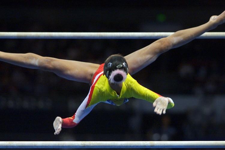 La gymnaste chinoise n'avait Dong Fangxiao n'avait que... (Photo: Reuters)