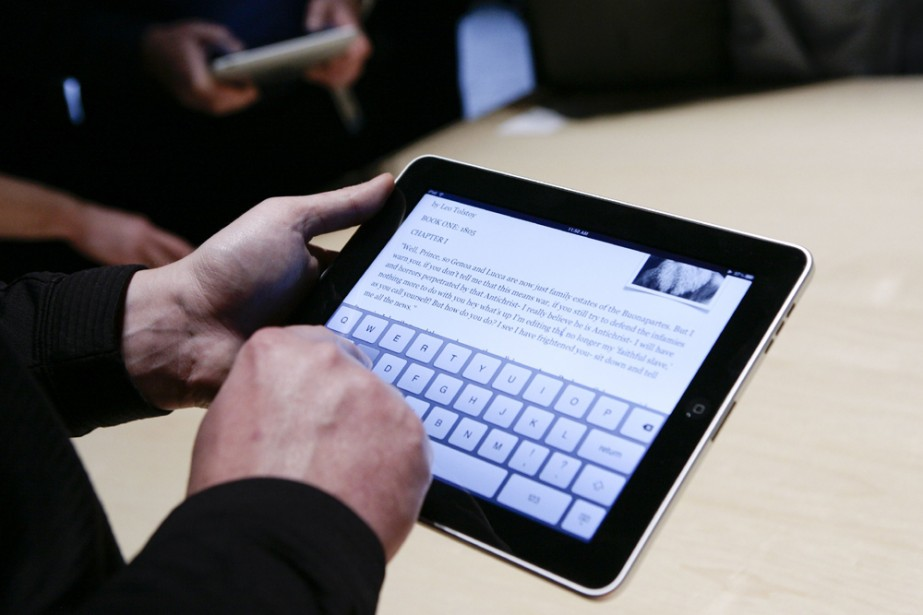 Le iPad... (Photo: AFP)
