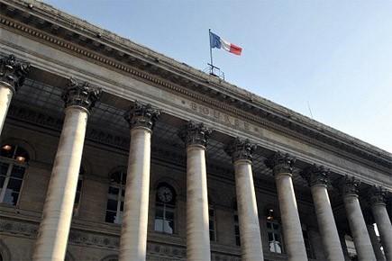 Le palais Brongniart accueillait la Bourse de Paris.... (Photo: AFP)