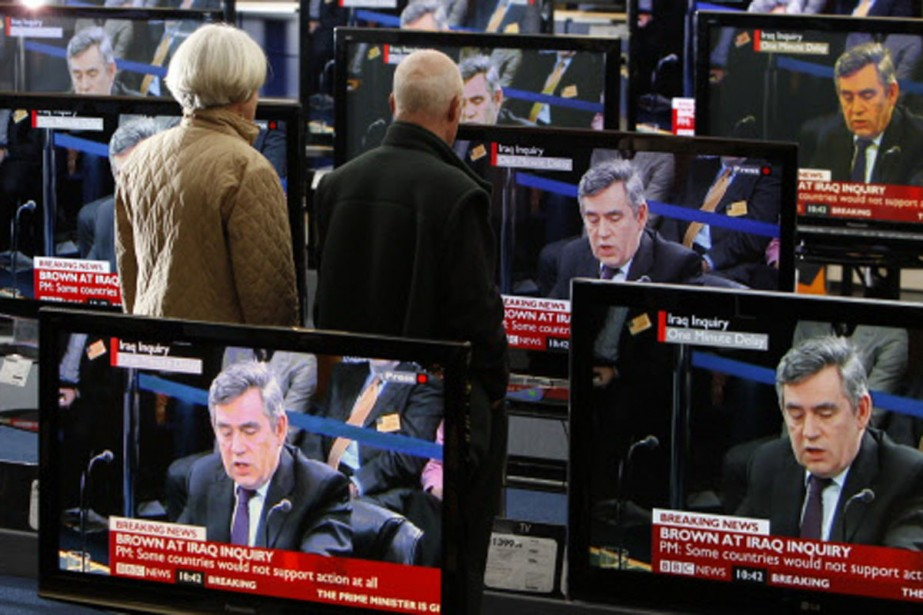 Le témoignage, très attendu, de Gordon Brown, accapare... (Photo: Reuters)