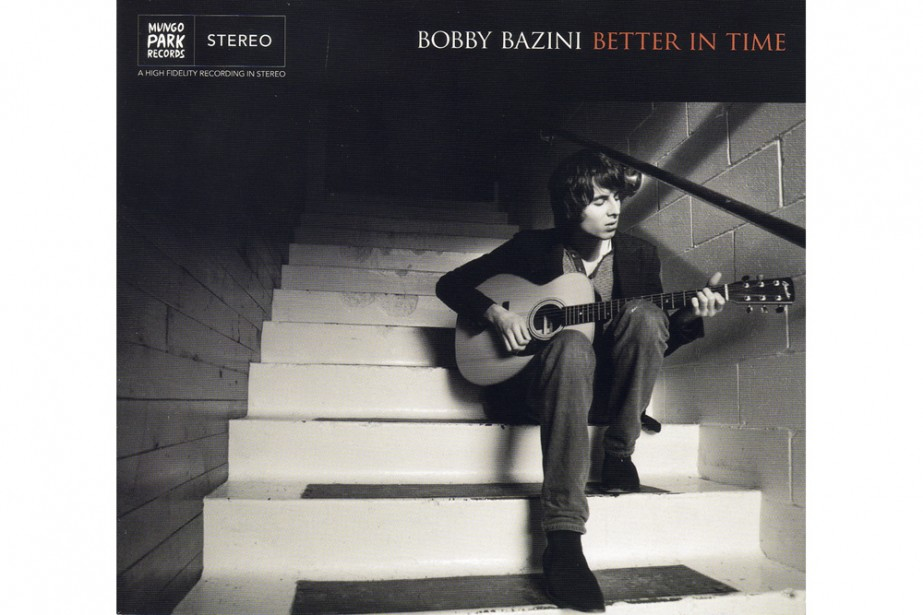 Bobby Bazini occupe la première place du palmarès...