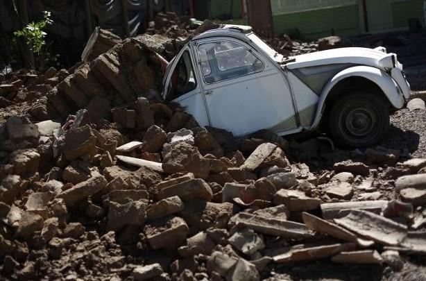 Le séisme du 27 février dernier a fait... (Reuters)