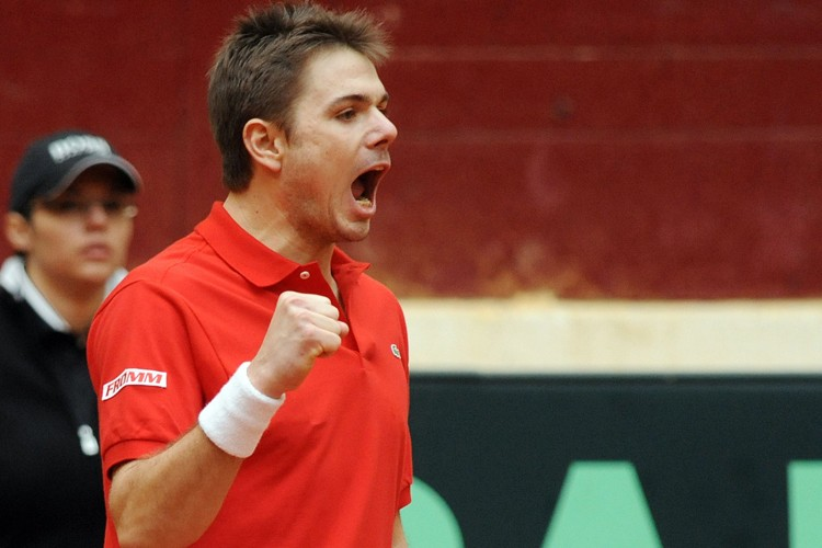 Stanislas Wawrinka a remporté son match contre Nicolas... (Photo: AFP)