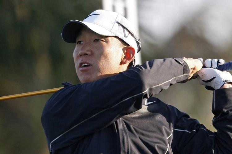 Anthony Kim a été un des quatre golfeurs... (Photo: AP)