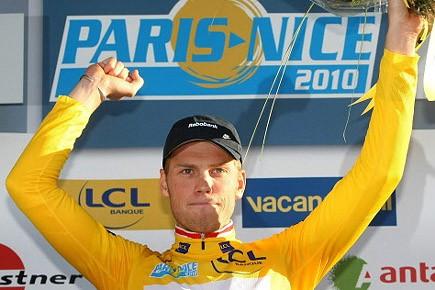 Lars Boom, chef de file d'une équipe Rabobank... (Photo: AP)