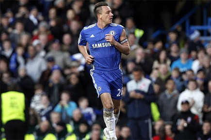 John Terry de l'équipe Chelsea pendant le match.... (Photo: Reuters)