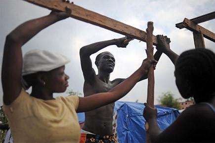 La Croix-Rouge espère avoir les deux-tiers de tous... (Photo: AFP)