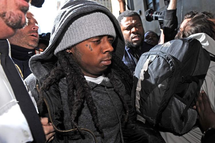 Lil Wayne a reçu sa peine lundi à... (Photo: AP)