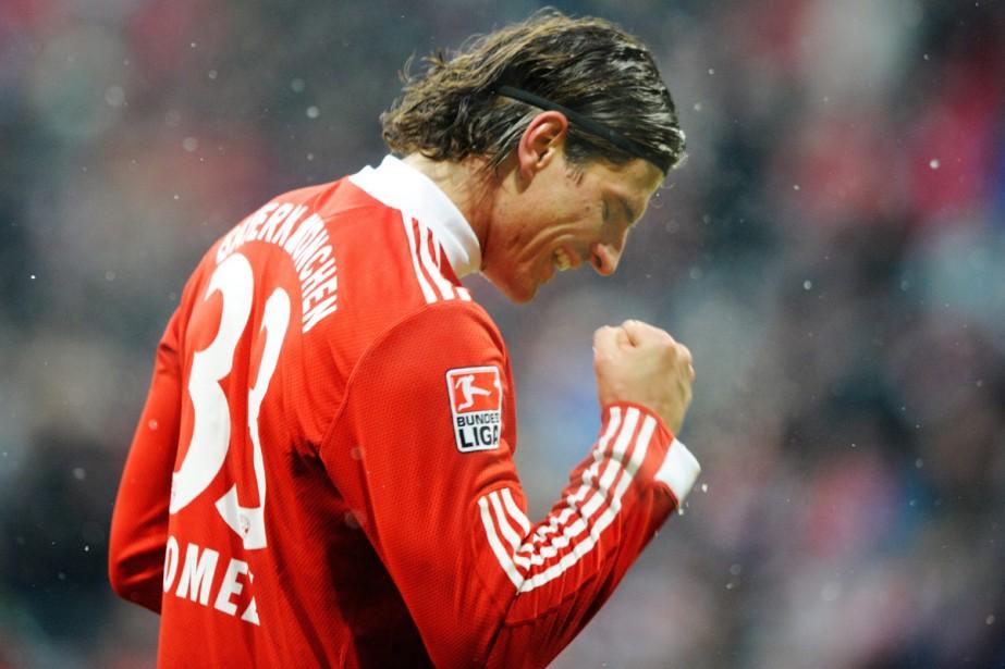 Mario Gomez... (Photo: AFP)