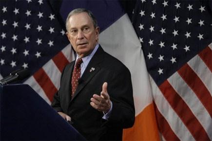 Le maire de New York Michael Bloomberg... (Photo: AP)