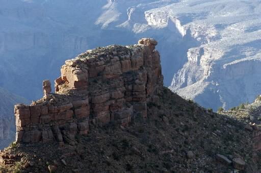 Le Grand Canyon, en Arizona... (Photo: Robert Mailloux, archives La Presse)