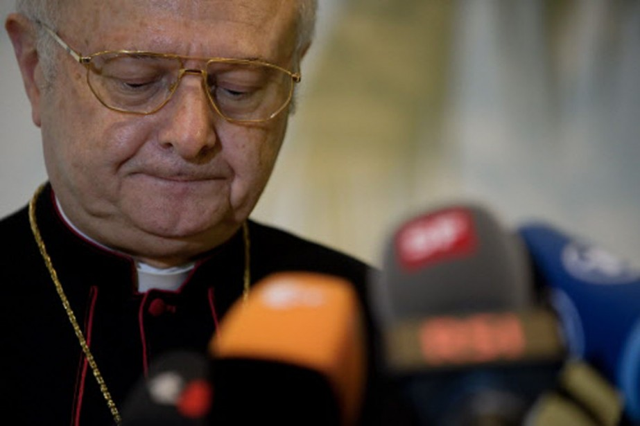 Le chef de l'Église allemande, Robert Zollitsch.... (Photo: AFP)